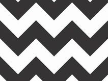 """Chevron large"" schwarz Riley Blake"