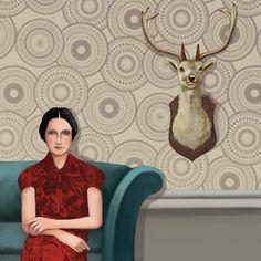 daria petrilli | Daria Petrilli - Loneliness in a room