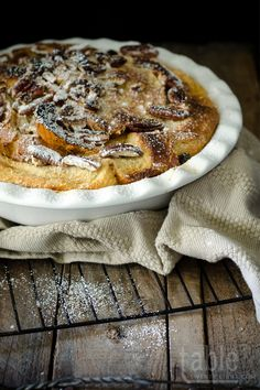 bailey's bread & butter pudding | tabletwentyeight.com