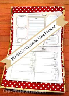 Free Ultimate Blog Planner