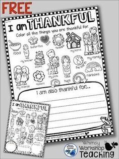 This free project is all about gratitude!How do you teach gratitude in your classroom? This differentiated activity can enhance your discussions about recognizing all of the things we have to be thankful for. Sometimes it can be difficult for students to realize that many things are taken for granted, so a list of pictures have been provided to help with your group discussion.