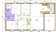 Plan maison neuve à construire - Logis du Marais Poitevin LMP Open - Primevere - Architecture design