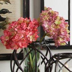 Hydrangea Flower Stem, Set of 2
