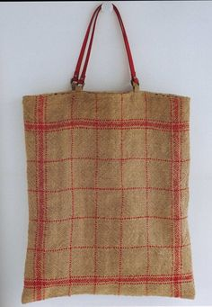 Big Bag - Handmade Jute Linen Bags - Japanese Craft Book - Out of Print - (JB-001). $24.95, via Etsy.