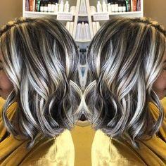 #angledbob #highlights #lowlights  Hair by: Sharon Teceno