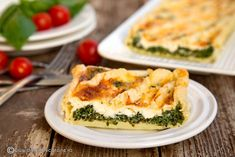 quiche-rapid-cu-spanac-si-feta--felie Spanakopita, Greek Recipes, Lunches, Feta, Easter, Cook, Ethnic Recipes, Places, Food