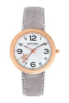 Women's White Dial Watch by Sperry Top-Sider on @HauteLook
