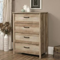 Loon Peak Sunlight Spire 4 Drawer Lingerie Chest