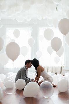 Balloon engagement shoot