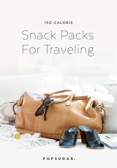 One simple way to avoid an expansion of your waistline while traveling is to pack your own snacks. Here are 11 150-calorie snack-pack ideas perfect for any
