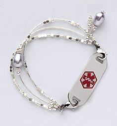 Ice Ballet Medical ID Bracelet