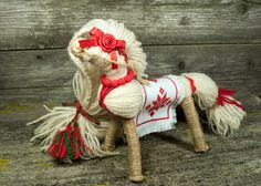 Waldorf horse toy horse stuffed horse natural toy от Waldorfworld
