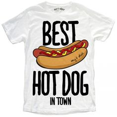 "T-SHIRT UOMO ""BEST HOT DOG"""