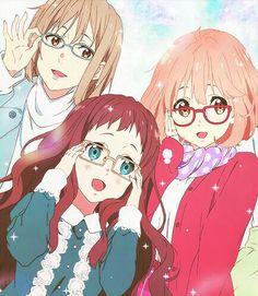 Please give credit if use! Otaku Anime, All Anime, Me Me Me Anime, Anime Manga, Anime Art, Katana, Mirai Kuriyama, Beyond The Boundary, Kyoto Animation