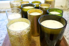 How to Make Soy Candles out of Old Wine Bottles