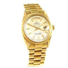 Rolex Vintage Rolex Day Date 1807 36mm 18K Yellow Gold Watch | TrueFacet