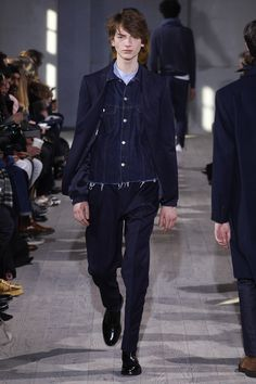Officine Generale Fall 2017 Menswear Collection Photos - Vogue