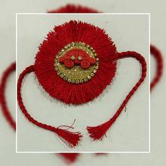 "Craft Ideas on Instagram: ""*Raksha Bandhan special* Handmade silk thread kids rakhis DM for details or to place an order #handmaderakhis #silkthreadrakhis #rakhis…"" Handmade Rakhi, Raksha Bandhan, Silk Thread, Crochet Earrings, Craft Ideas, Kids, Crafts, Instagram, Jewelry"
