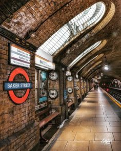 Since 1863 the OG of tube stations. London Transport, London Travel, Mykonos, Santorini, London Underground Train, London Dreams, U Bahn, London Places, City Aesthetic