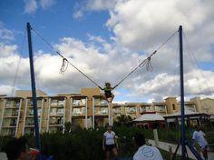 Now Jade Riviera Cancun Resort & Spa: Kid's Bungee