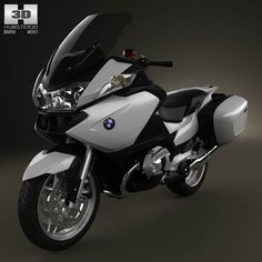 BMW R1200RT 2005 3d model from humster3d.com. Price: $75