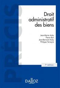 Droit administratif des biens - J. Auby - J. Auby - P. Bon - P. Terneyre - Dalloz - 9782247152384 - Lgdj.fr http://catalogue-bu.univ-lemans.fr/flora/jsp/index_view_direct_anonymous.jsp?PPN=193123789