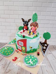 Paw Patrol Birthday Cake, Themed Birthday Cakes, Themed Cakes, 3rd Birthday, Birthday Party Themes, Bing Cake, Bing Bunny, Amelia, Bunnies
