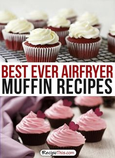 Airfryer Recipes   best ever Airfryer Muffin Dessert Recipes from RecipeThis.com