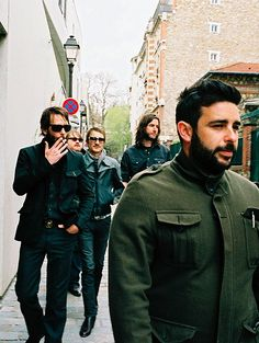 Band of Horses- My friend Ryan is in this band.  He's the one in the back.
