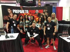 Team #Formulation1 @ #ASF2015 are #preparetoperform at Booth #1657. We're ready for you!