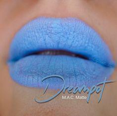 Mac Dreampot Matte lipstick Blue Lipstick, Mac Lipsticks, Type 1, Hair Makeup, Make Up, Nails, Beauty, Finger Nails, Ongles