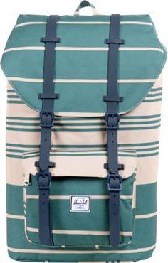 Herschel Supply Co. Little America Weather Pack Army Stripe - #backpacks #style #backtoschool #herschelbackpacks #college #collegebackpacks #campusbackpacks