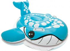 Intex Φουσκωτό Bashful Blue Whale Ride-On 140 x 69 cm - 57527 Inflatable Pool Toys, Ocean Party, Water Toys, Blue Whale, Casino Theme Parties, Business For Kids, Games For Kids, Kids Toys, Baby Toys