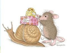 """Happy belated birthday."" from House-Mouse Designs®"