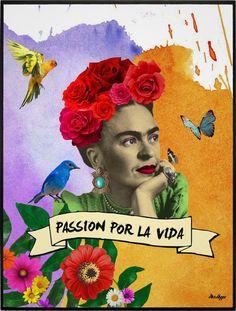 FRIDA - PASSION POR LA VIDA