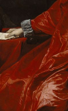 Agostino Pallavicini sits enveloped by the sumptuous, flowing red robes worn in…
