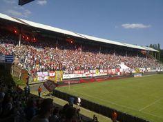 Derby day at Den Bosuil, Royal Antwerp FC - Germinal Beerschot Antwerpen