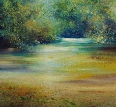 Amanda HOSKIN - A Quiet Place on the River, Fowey