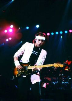 Mark Knopfler, one of the most underrated guitarist, and writers in rock and roll.