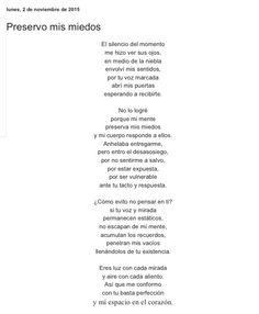 Preservó mis miedos por Diana García Botero