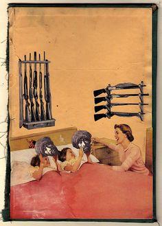 http://lespapierscolles.wordpress.com/2013/03/27/federico-hurtado/  Federico Hurtado #collage #illustration #graphisme #art