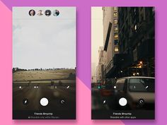Dribbble - Camera App by stoilovskikh ivan