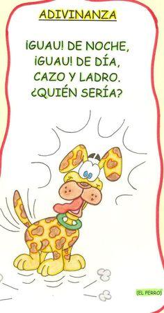 adivinanzas Preschool Poems, Preschool Education, Preschool Activities, Spanish Teacher, Spanish Classroom, Teaching Spanish, Games 4 Kids, Spanish Notes, Spanish 1