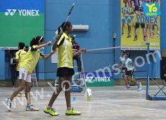 We Congratulates Kritika Bhatt & Bhavya Mittal for being runner-ups with 21-6, 21-6 in Girls Doubles U13 YoGems Badminton Championship series,Noida