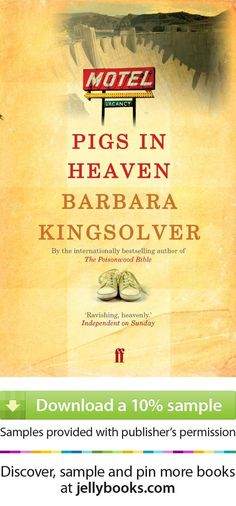 One of my favorite authors. 'Pigs in Heaven' by Barbara Kingsolver - Download a free ebook sample and give it a try! Don't forget to share it, too.