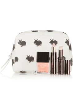 Marc by Marc Jacobs | Rabbit-print coated cotton cosmetics case | NET-A-PORTER.COM