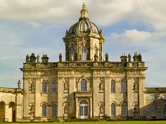 Castle Howard | The North front facade and iconic dome