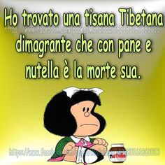 Dieta e amore. Per la Nutella... Funny Images, Funny Pictures, Online Album, Feelings Words, My Philosophy, Word Up, Real Love, Mood Quotes, Nutella