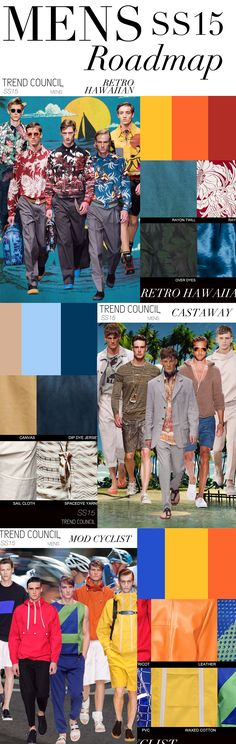 TREND COUNCIL SS 2015- MEN'S COLORS