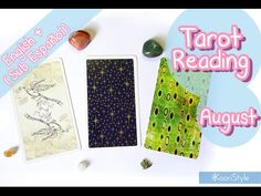 Hi Friends~ today I'd like to share with you the first tarot reading for my subscribers & viewers ♥! This reading is for the month of August 2016; you can choose one of three cards: Paulina Tarot, Universal Waite Tarot and Dreaming Way Tarot :)